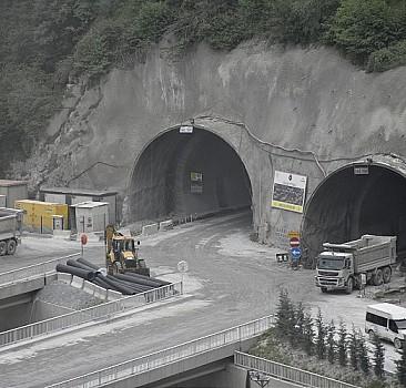 Yeni Zigana Tüneli Projesi sona yaklaştı