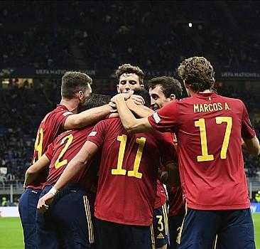 İspanya, Uluslar Ligi'nde finale çıktı
