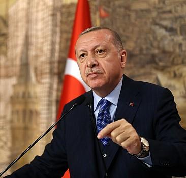 Küstah sözlere Erdoğan'dan sert tepki!