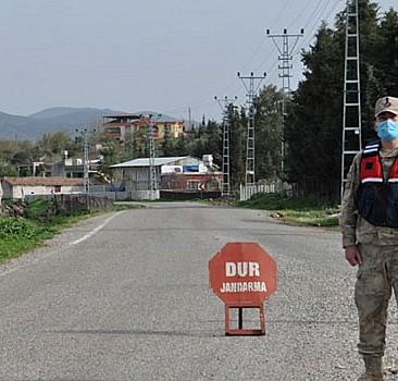 Adıyaman'da 68 ev Kovid-19 karantinasına alındı