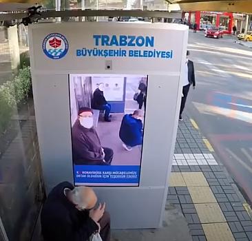 Trabzon'da maske takmayanların yüzü virüsle kaplandı