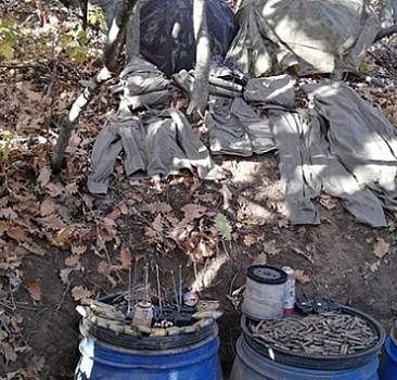 Bingöl'de toprağa gömülü patlayıcı ve mühimmat bulundu