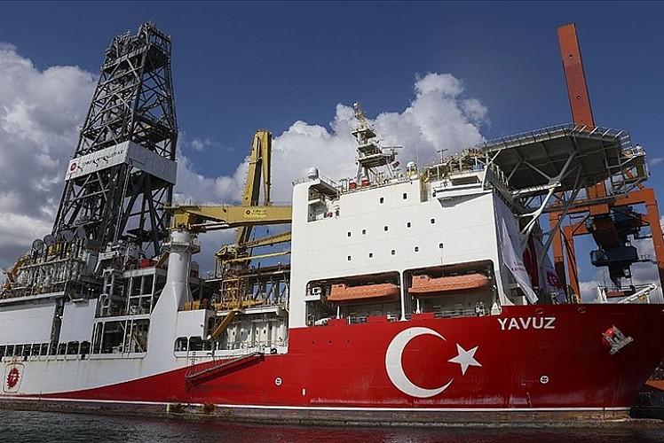Yavuz Karadeniz'deki ilk görevi için hazırlanıyor