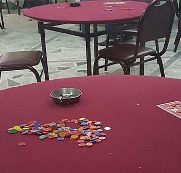 Dernek binasında kumar oynayanlara ceza yağdı