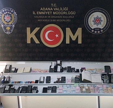 Adana'da tefecilik operasyonu: 30 gözaltı