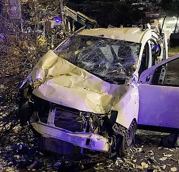 İstanbul'da korkunç kaza: 4 yaralı
