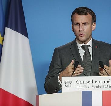 Macron, İsrail'den açıklama istedi
