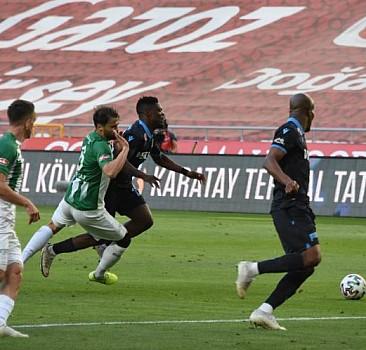 Trabzonspor Konyaspor ile berabere kaldı
