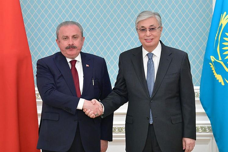 Şentop'tan Kazakistan'da üst düzey görüşme