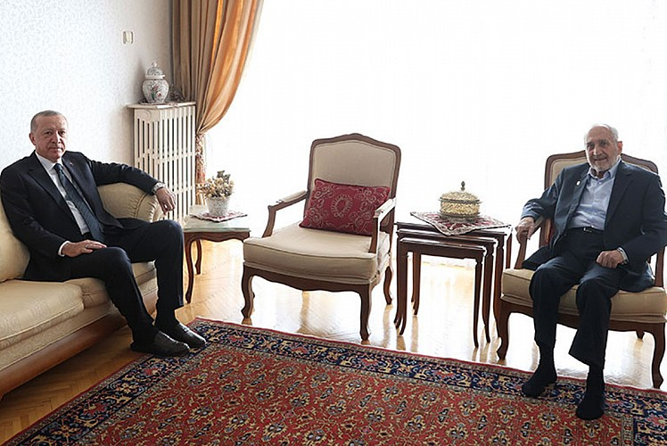 Erdoğan'dan Saadet Partili isme sürpriz ziyaret
