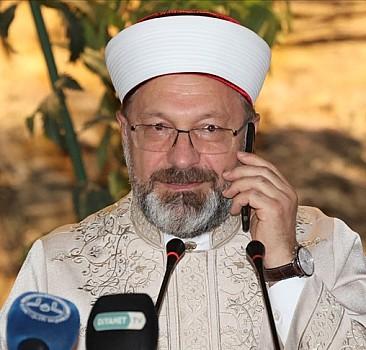 Erdoğan, icazet törenine telefonla katıldı