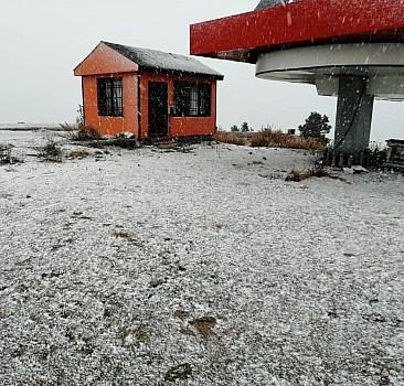 Yılın ilk karı yağdı!