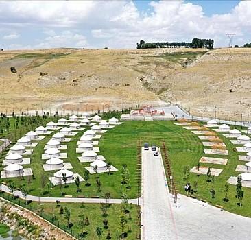 Millet bahçesi şanlı zaferin 950. yıl dönümü için hazır