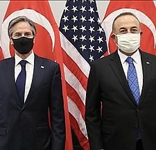 Bakan Çavuşoğlu, ABD'li mevkidaşı Blinken'la görüştü