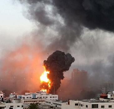 Filistin'de direniş sürüyor! Aşdod yangın yerine döndü