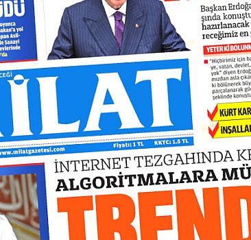2 Ekim 2021 Milat Gazetesi