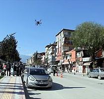 Drone destekli asayiş uygulaması