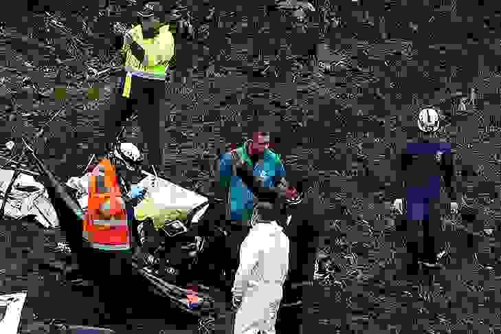 Otobüs uçuruma yuvarlandı: Çok sayıda ölü ve yaralı var