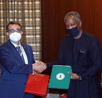 Türkiye ve Nijerya enerji alanında 3 mutabakat