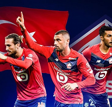 Fransa'da tarih yazan Türkler! Lille, Ligue 1'de şampiyon oldu