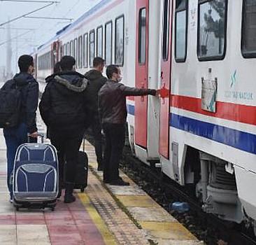 Ara verilen bölgesel tren seferleri başladı