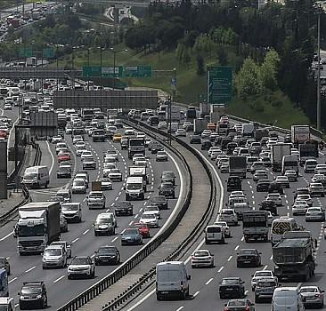 İstanbul'da trafik yoğun