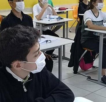 Kayseri'de yüz yüze eğitime bir gün ara verildi
