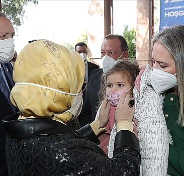 Erdoğan çiftinden Ayda'ya ziyaret