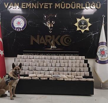 Van'da 73 kilo 53 gram uyuşturucu ele geçirildi
