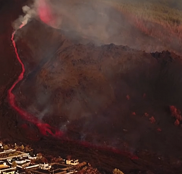 La Palma'da yanardağ patlaması sürüyor