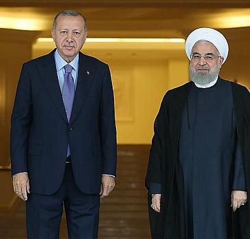 Erdoğan ile Ruhani arasında önemli görüşme