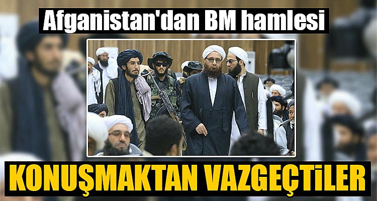 Afganistan'dan BM hamlesi