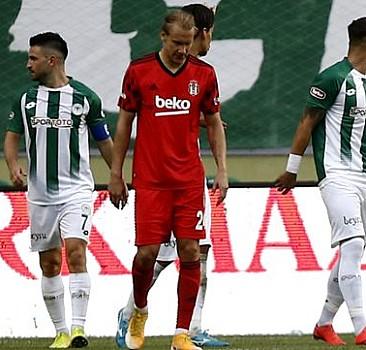 Beşiktaş, Konya'da çok fena dağıldı!