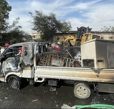 Irak'ta halk pazarında patlama