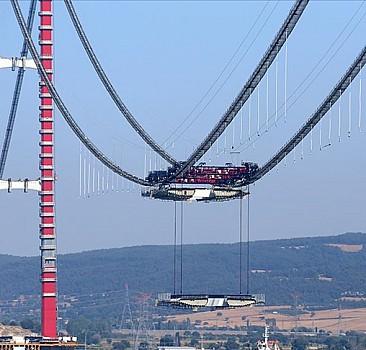 Çanakkale Köprüsü'nde yeni aşama