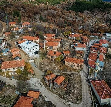 Salgın sebebi ile köy nüfusu 10 katına çıktı