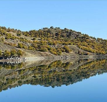 Uzunçayır Baraj Gölü'nden görsel şölen