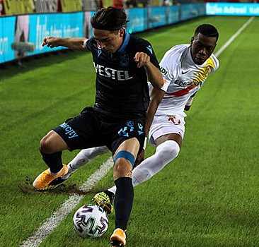 Trabzonspor, ligdeki ilk galibiyetini aldı