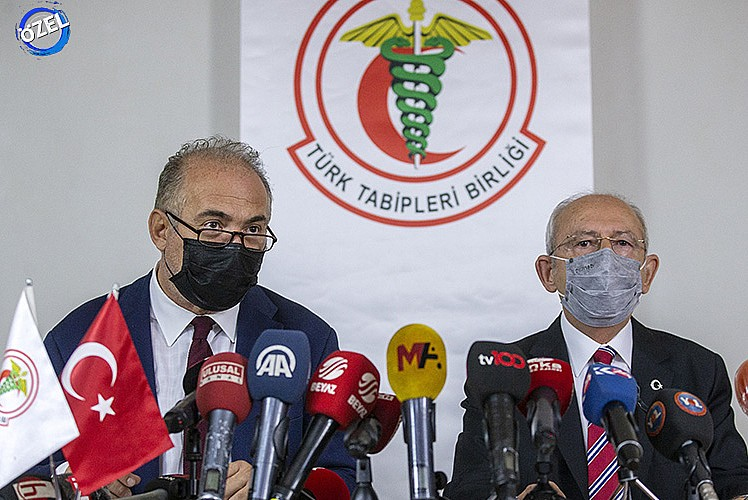 TTB'ye sert tepki! 'HDP'nin odası'