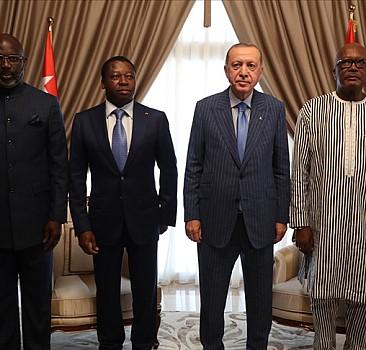 Afrika'daki dörtlü zirve sonrası ortak bildiri yayınladı