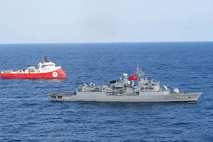 Türkiye'nin gücünü kırmak için Akdeniz'de emperyalist tuzak