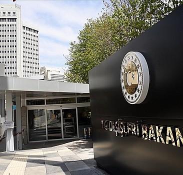 Türkiye'den Hırvatistan'a taziye mesajı