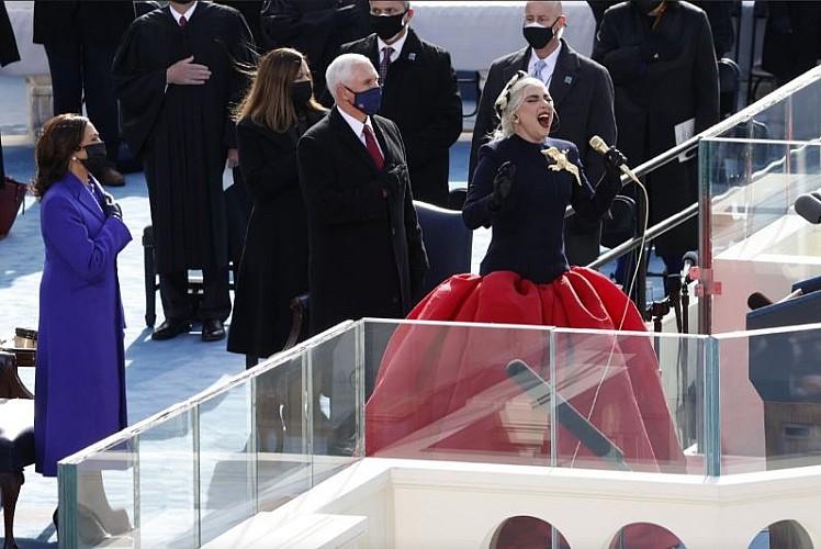 Ünlüler Biden'in yemin töreninde sahne aldı