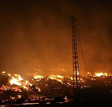 Kastamonu'da köyde yangın