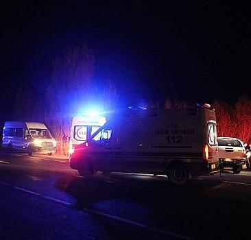 Sığınmacıları taşıyordu! Ağrı'da feci kaza