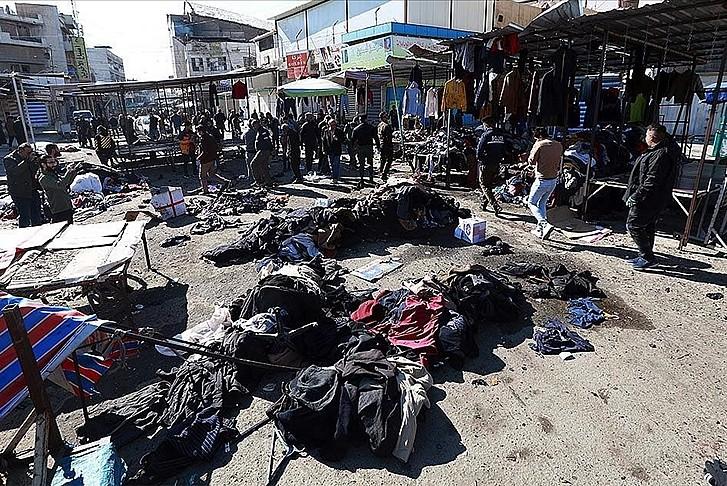 Irak, o patlama için DEAŞ'ı sorumlu tuttu