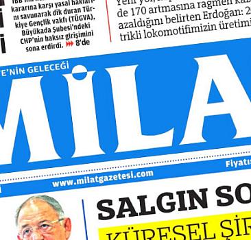 9 Ekim 2021 Milat Gazetesi