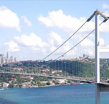 Fatih Mehmet Sultan Köprüsü'nde kaza