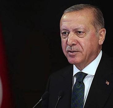 Başkan Erdoğan'dan destek paylaşımı
