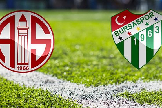 Bursaspor Antalyaspor maçı saat kaçta? Şifresiz mi? Hangi kanalda?